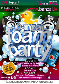 12.06.2010 - Foam Party @ Banzai Club (Daugavpils, LV)